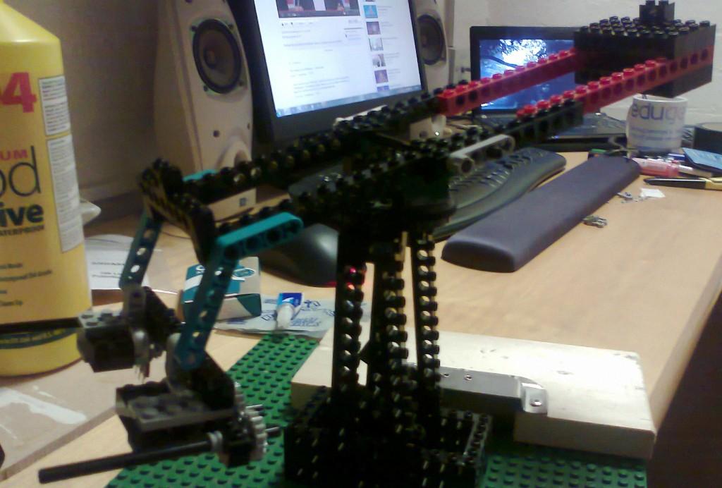 Lego TrackPod