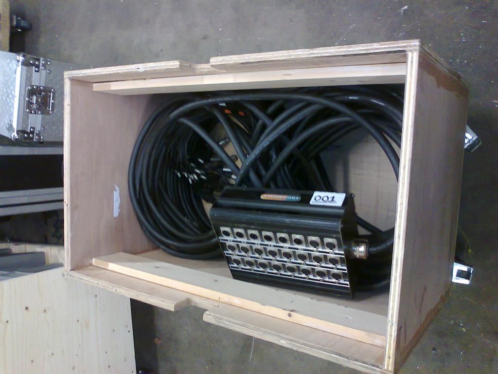 50m 24channel multicore in box.