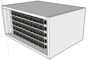 5u rack model