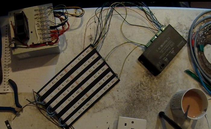 prototype LED panel