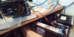Dell 7020 with PCI riser